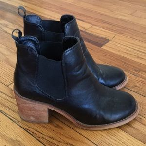 Anthropology Ankle Booties